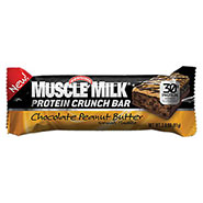 Muscle milk crunch choc peanut butter bar